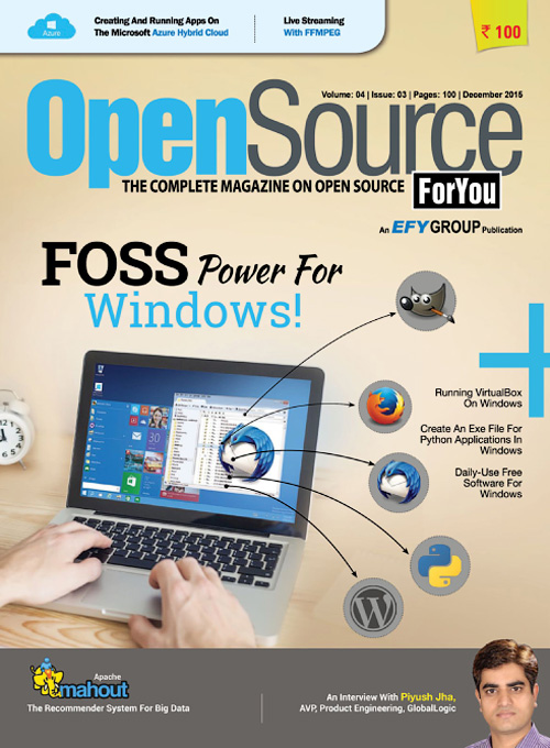 Open Source For You - December 2015