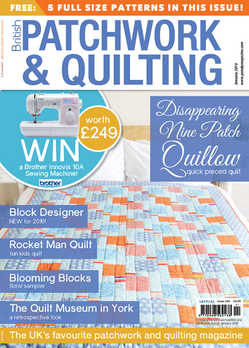 Patchwork & Quilting - January 2016