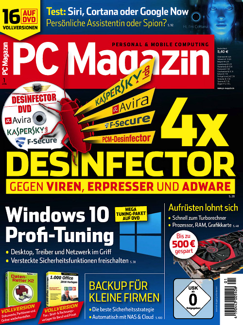 PC Magazin - Januar 2016