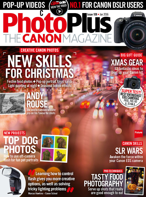 PhotoPlus: The Canon Magazine - January 2016
