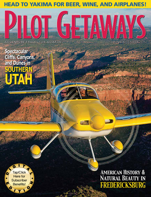 Pilot Getaways - September/October 2015