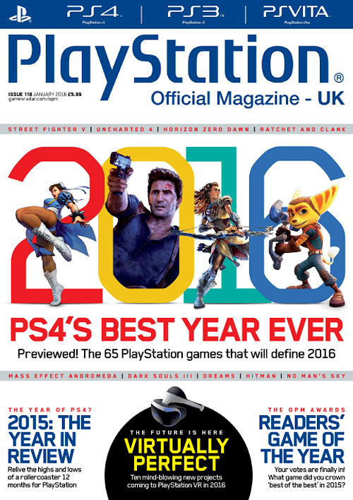 PlayStation Official Magazine - January 2016