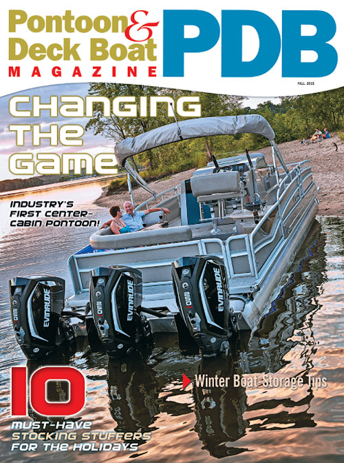Pontoon & Deck Boat - Fall 2015