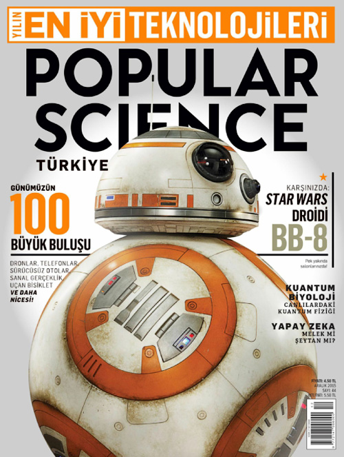 Popular Science Turkey - Aralik 2015