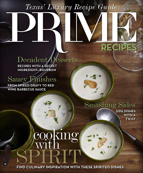 Prime Living's - Recipe Guide 2015