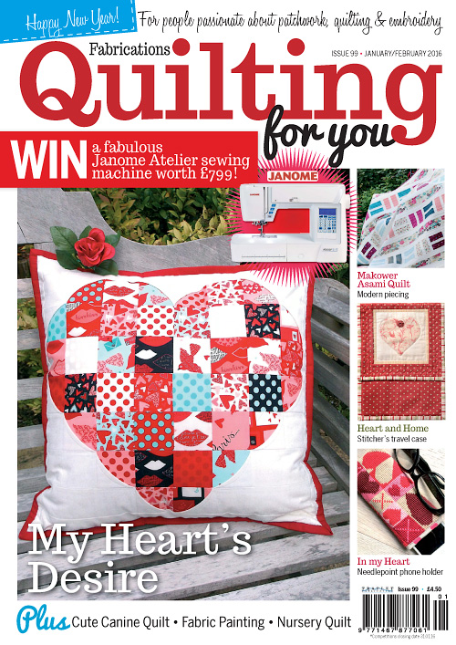 Quilting for You - January/February 2016