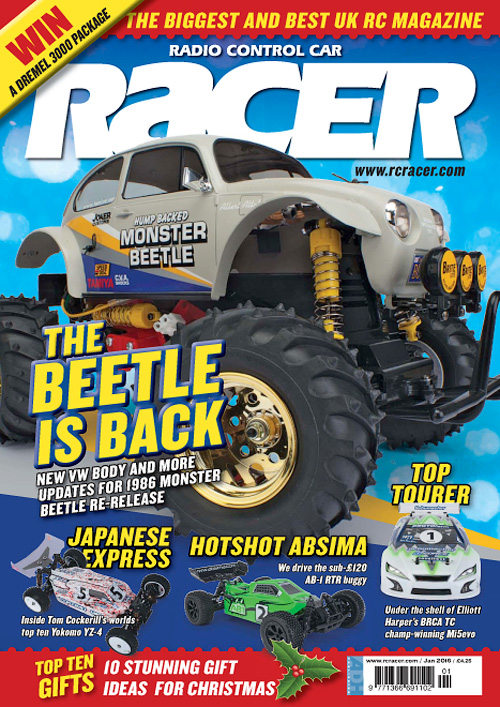 Radio Control Car Racer - January 2016