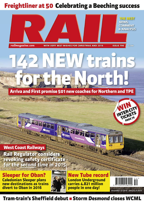 Rail Magazine - Issue 790, 2015