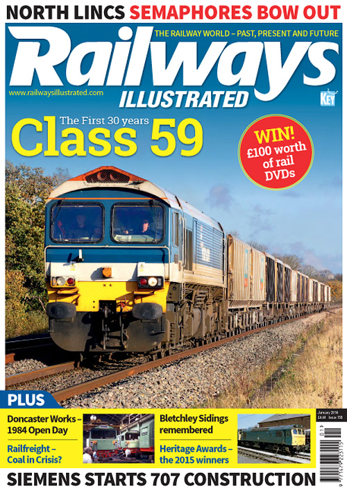 Railways Illustrated - January 2016