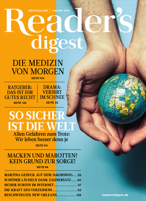 Readers Digest Germany - Januar 2016