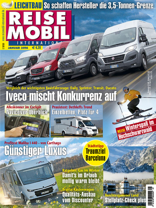 Reisemobil International - Januar 2016