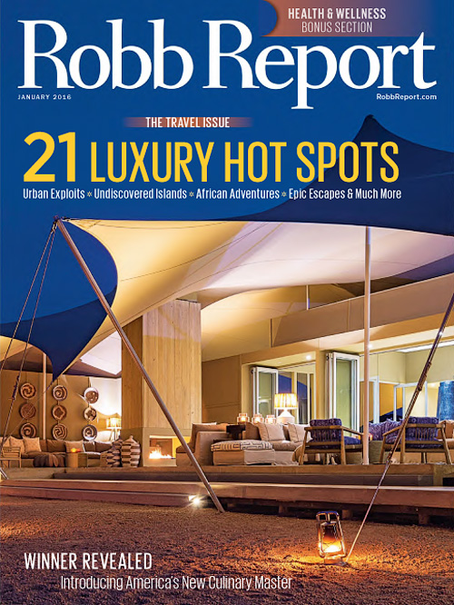 Robb Report USA - January 2016