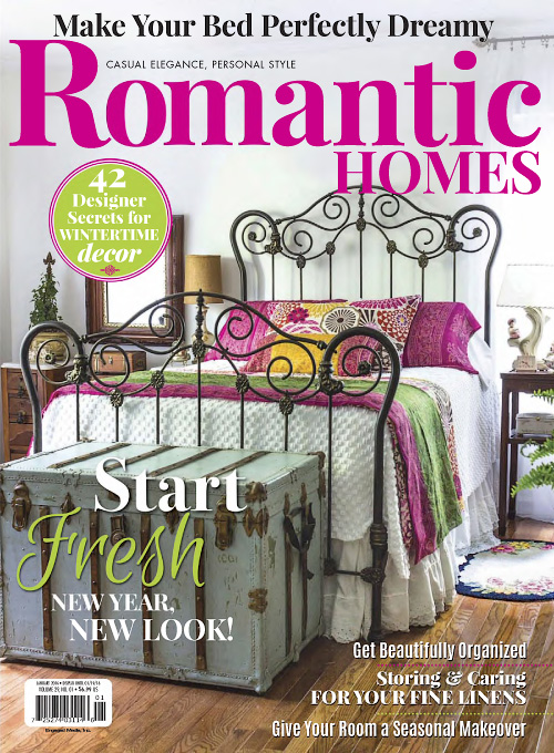 Romantic Homes   January 2016