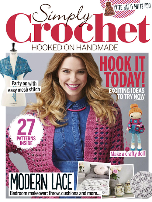 Simply Crochet - Issue 39, 2015