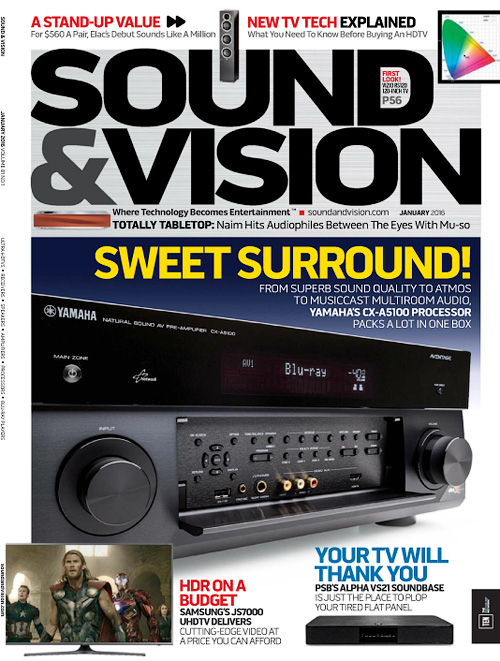 Sound & Vision - January 2016