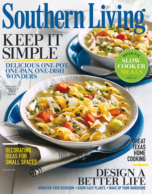 Southern Living - January 2016