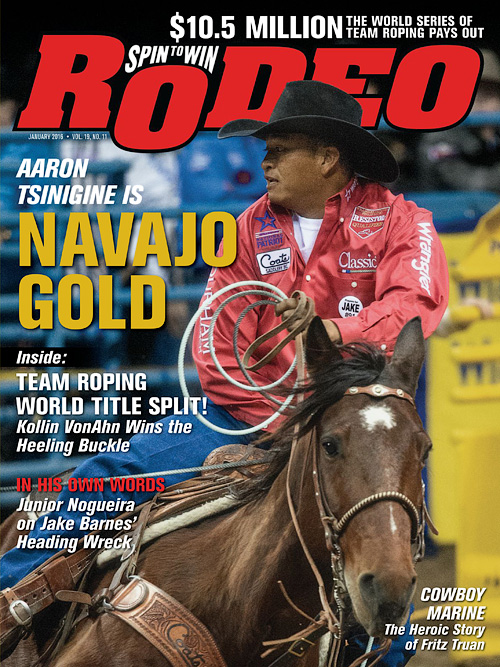 Spin To Win Rodeo - January 2016