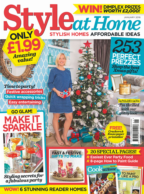 Style at Home UK - January 2016