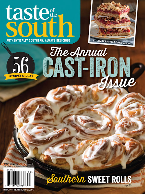Taste of the South - January/February 2016