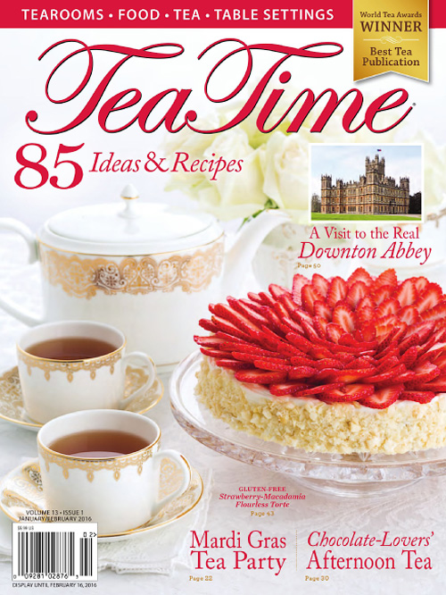 Tea Time - January/February 2016