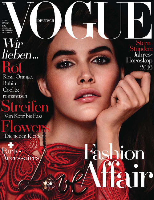 Vogue Germany - Januar 2016
