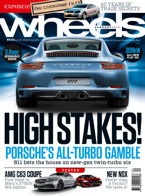 Wheels Australia - January 2016