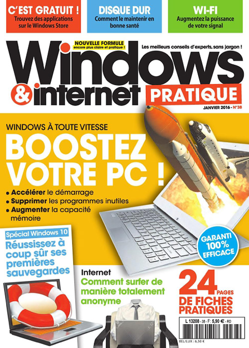 Windows & Internet Pratique - Janvier 2016