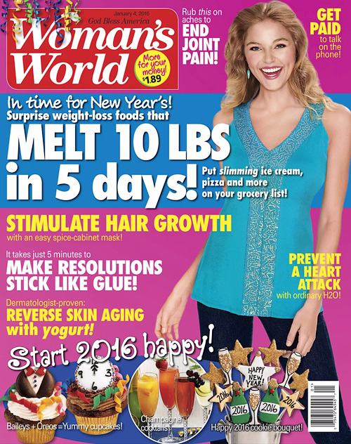 Woman's World - 4 January 2016