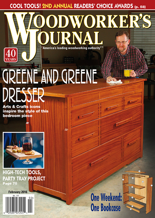 Woodworker's Journal - February 2016