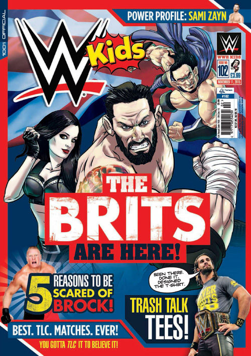 WWE Kids - Issue 102, 2015