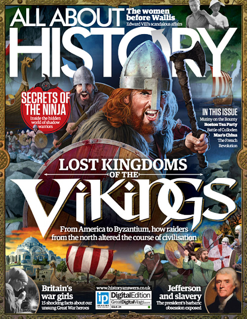 All About History - Issue 34, 2016