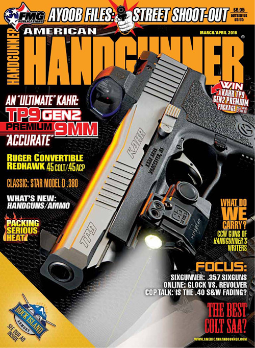 American Handgunner - March/April 2016