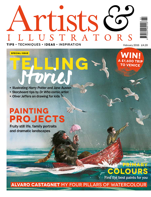 Artists & Illustrators - February 2016
