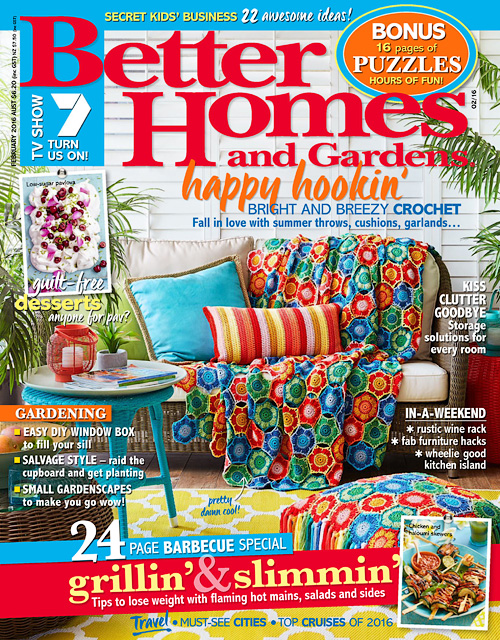 Better Homes And Gardens Usa - February 2016 » Free Pdf Magazines