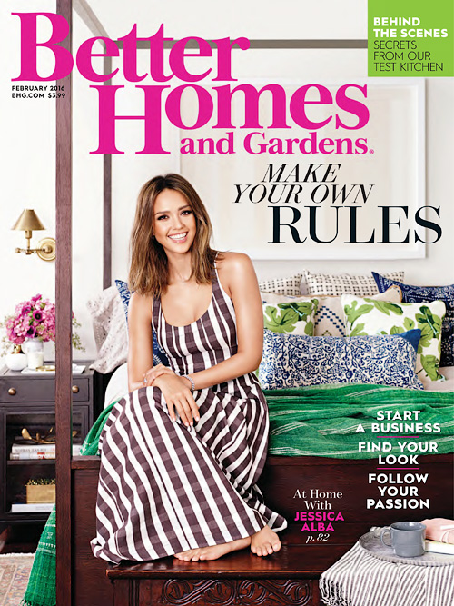 Better Homes and Gardens USA - February 2016