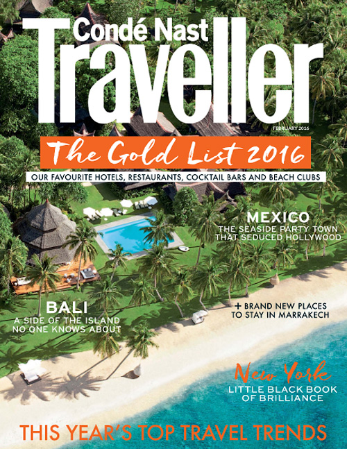 Conde Nast Traveller UK - February 2016