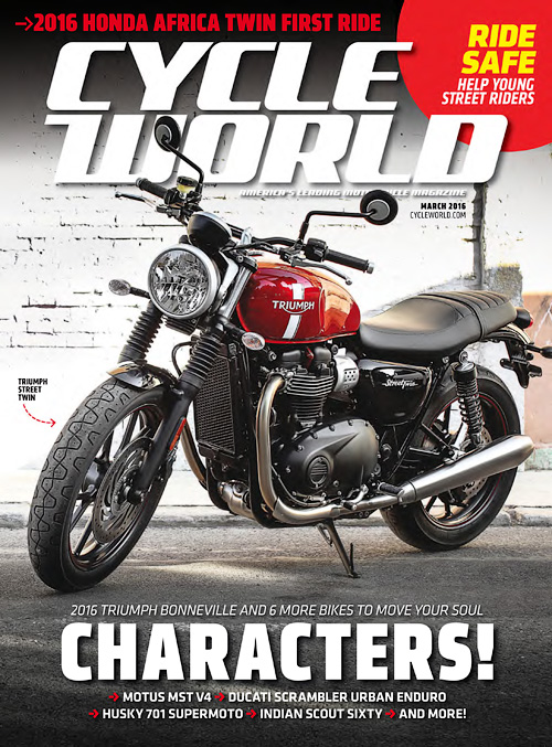Cycle World - March 2016