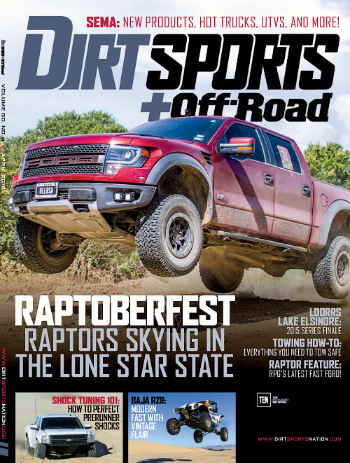 Dirt Sports + Off-Road - April 2016