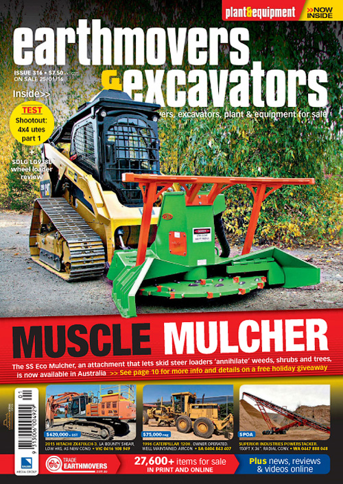 Earthmovers & Excavators - Issue 316, 2016