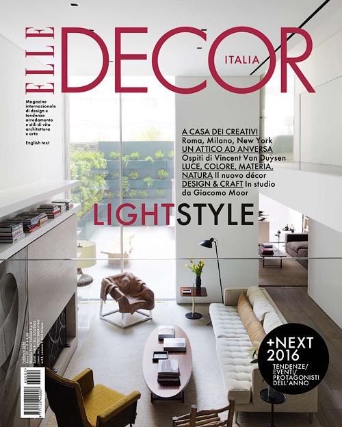 elle decor italia febbraio 2016 - Elle Decor Magazine