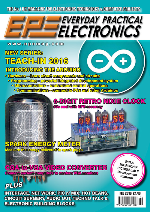 Everyday Practical Electronics - February 2016
