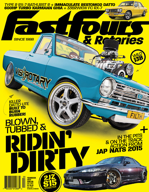 Fast Fours & Rotaries - Yearbook 2015