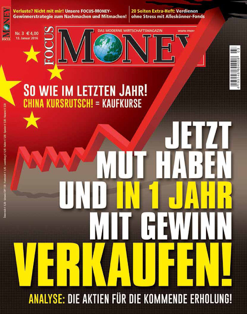Focus Money - 13 Januar 2016