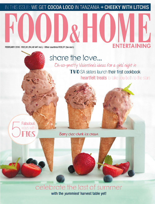 Food & Home Entertaining - February 2016