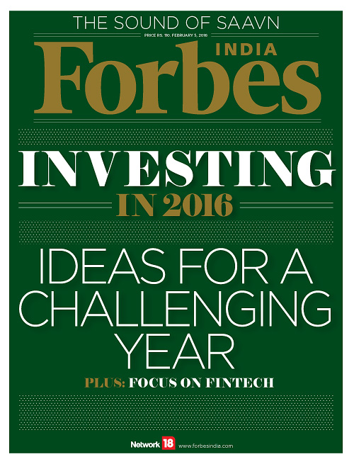 Forbes India - 5 February 2016