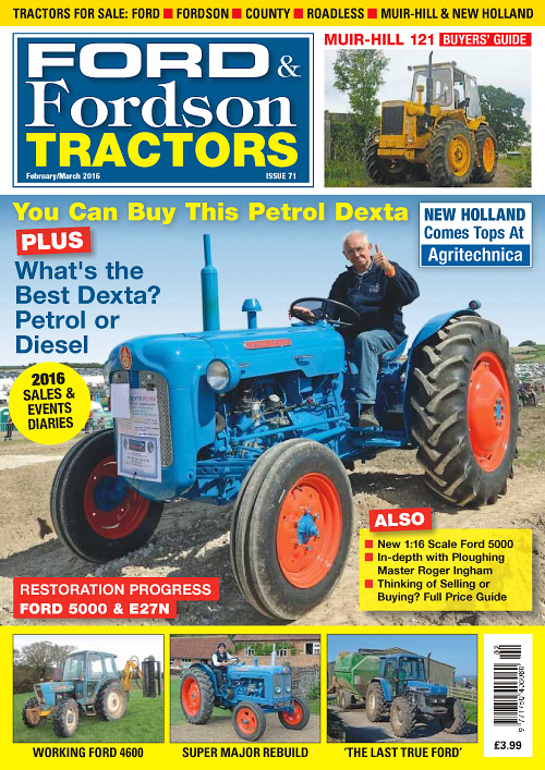 Ford & Fordson Tractors - February/March 2016