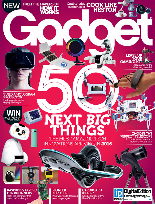 Gadget UK - Issue 4, 2016
