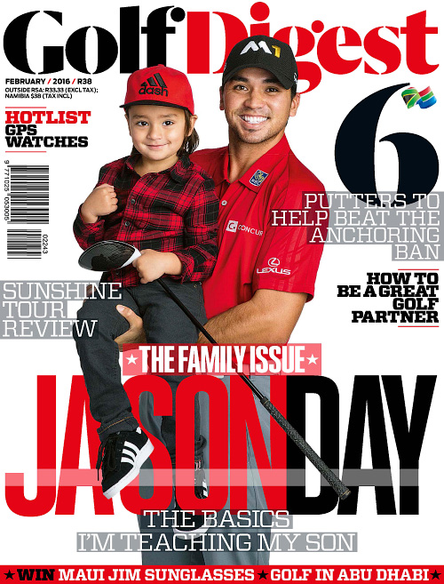 Golf Digest South Africa - February 2016