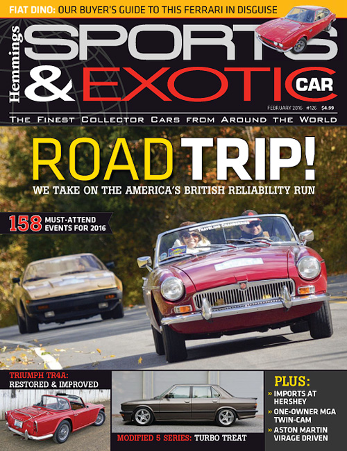 Hemmings Sports & Exotic Car - February 2016