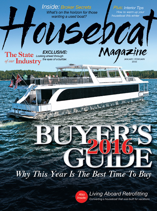 Houseboat Magazine - 2016 Buyer's Guide